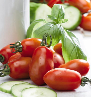 Tomate San Marzano (Lycopersicon esculentum) | Le jardin des vie-la-joie| Artisan semencier du Québec